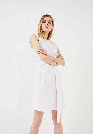 Платье Michael Kors. Цвет: белый