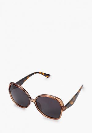 Очки солнцезащитные Mascotte. Цвет: коричневый