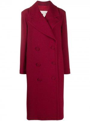 LAutre Chose пальто прямого кроя L'Autre. Цвет: красный