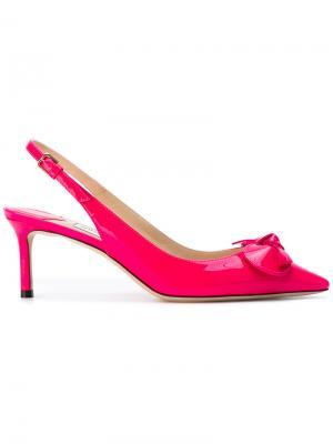 Туфли Blare 60 Jimmy Choo. Цвет: розовый и фиолетовый