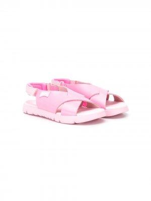 Сандалии Oruga Camper Kids. Цвет: розовый