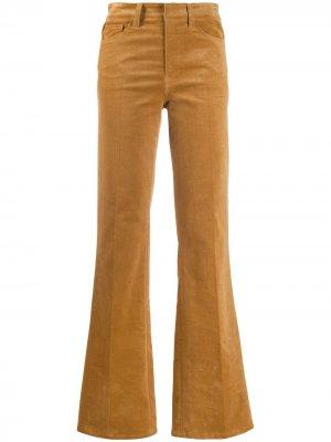 Расклешенные брюки с завышенной талией Zadig&Voltaire. Цвет: коричневый