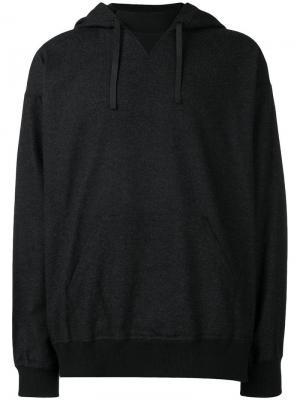 Drawstring hoodie Nanamica. Цвет: синий