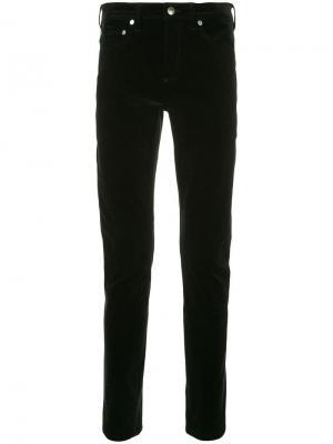 Бархатные джинсы скинни Neil Barrett. Цвет: черный