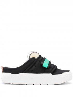 Слипоны Offline Nike. Цвет: черный