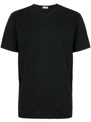 Классическая футболка Sunspel. Цвет: черный
