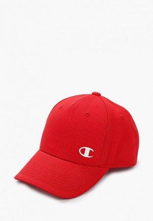 Бейсболка Champion. Цвет: красный