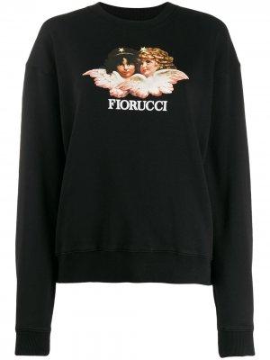 Толстовка Vintage Angels Fiorucci. Цвет: черный