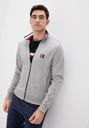 Олимпийка Tommy Hilfiger. Цвет: серый