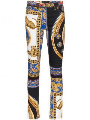 55e5e7bddc0 Женские джинсы с принтами купить в интернет-магазине LikeWear Беларусь