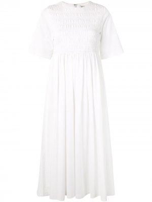 Платье Diddy Sandy Liang. Цвет: белый