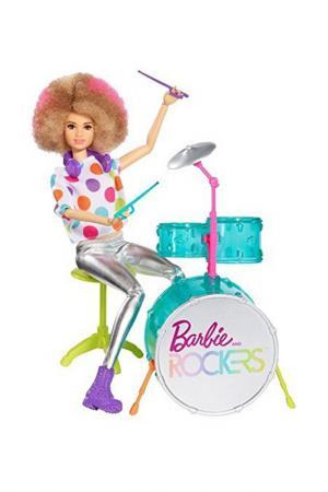 Барби (Рок-музыкант) Barbie. Цвет: серебряный