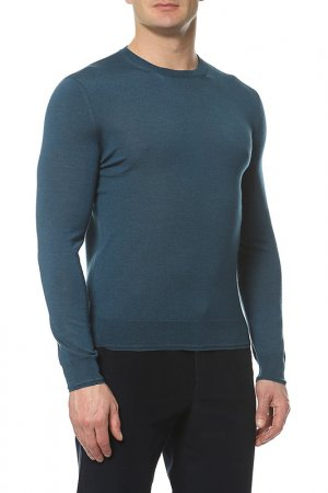 Пуловер Corneliani. Цвет: зеленый