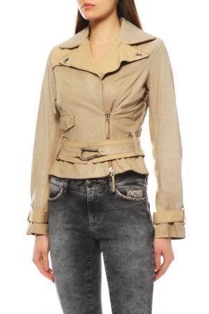 Куртка EXTE. Цвет: бежевый