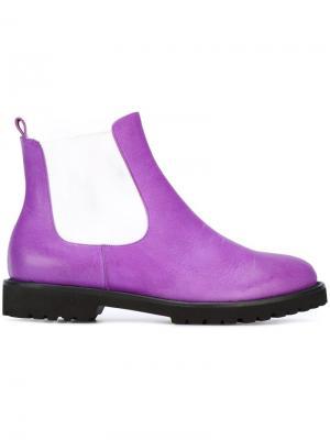 Ботинки Челси Chalayan. Цвет: фиолетовый