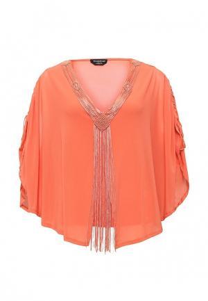 Блуза Bebe. Цвет: оранжевый