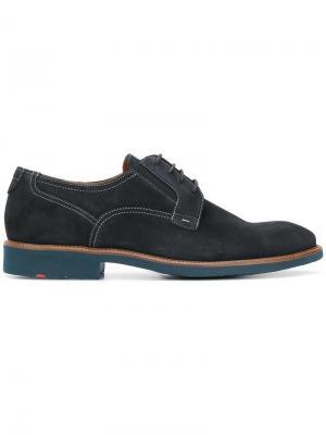 Туфли на шнуровке Lloyd. Цвет: синий
