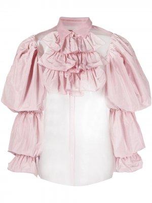 Блузка Madam Hook Viktor & Rolf. Цвет: розовый