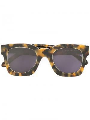 Солнцезащитные очки Pablo Karen Walker. Цвет: желтый