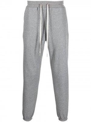 Спортивные брюки с кулиской John Elliott. Цвет: серый