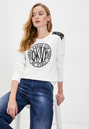 Свитшот DKNY. Цвет: белый