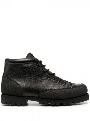 Ботинки хайкеры Yosemite Paraboot. Цвет: черный