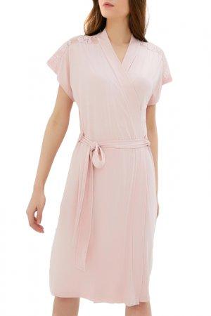 Халат Luisa Moretti. Цвет: pink