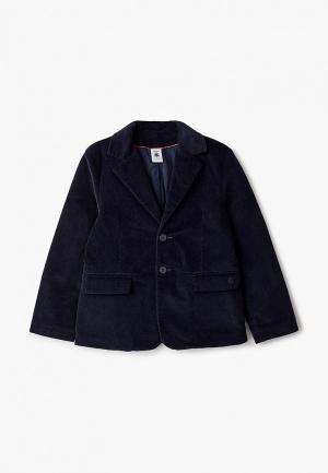 Пиджак Petit Bateau. Цвет: синий