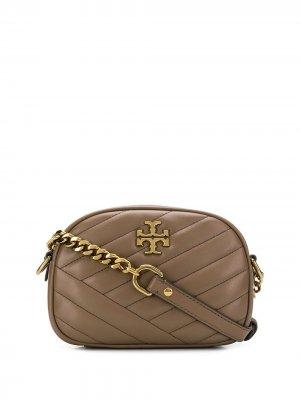 Маленькая сумка через плечо Kira Tory Burch. Цвет: нейтральные цвета