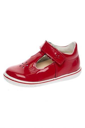Ботинки RICOSTA. Цвет: красный