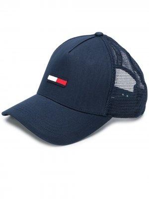 Бейсболка с вышитым логотипом Tommy Hilfiger. Цвет: синий