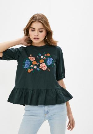 Блуза Koton. Цвет: зеленый