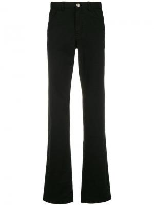 Straight leg jeans Brioni. Цвет: черный