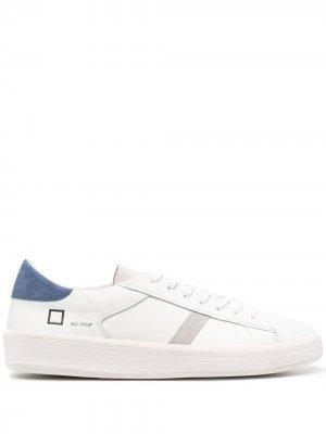 Кроссовки Ace Pop на шнуровке D.A.T.E.. Цвет: белый
