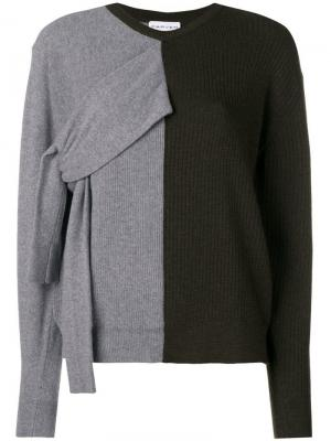 Double-faced knit sweater Carven. Цвет: зеленый