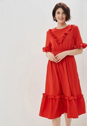 Платье Sister Jane. Цвет: красный
