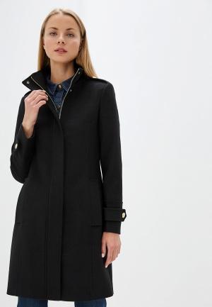 Пальто Trussardi Jeans. Цвет: черный