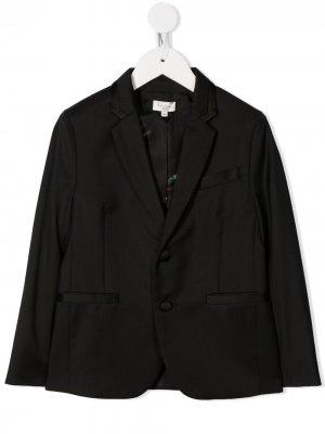 Пиджак с заостренными лацканами Paul Smith Junior. Цвет: черный