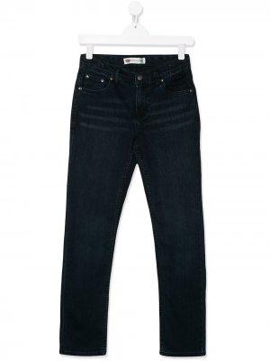 Levis Kids прямые джинсы Levi's. Цвет: синий