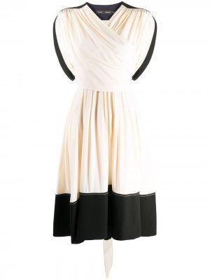 BELTED SHORT SLEEVE DRESS Proenza Schouler. Цвет: нейтральные цвета