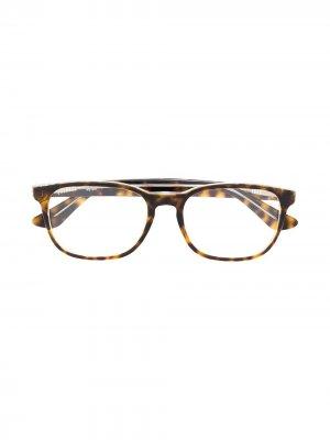 Очки в квадратной оправе RAY-BAN JUNIOR. Цвет: коричневый