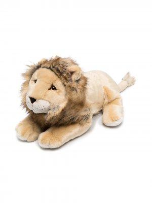 Мягкая игрушка лев Melchior 60 см La Pelucherie. Цвет: коричневый