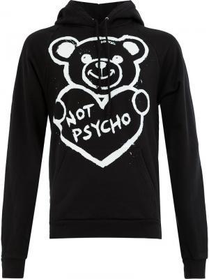Худи not psycho Dom Rebel. Цвет: черный