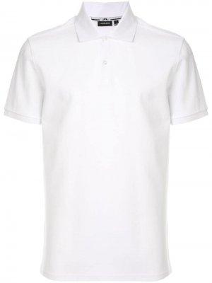 Рубашка-поло J.Lindeberg. Цвет: белый