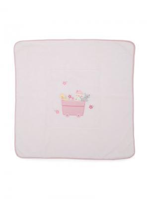 Одеяло с животными Familiar. Цвет: розовый