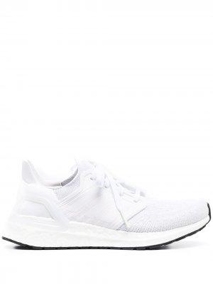 Кроссовки Ultraboost 20 adidas. Цвет: белый