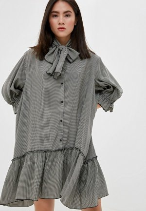 Платье See by Chloe. Цвет: серый
