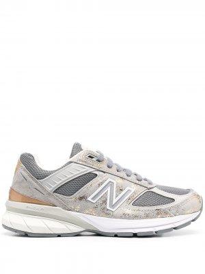 Кроссовки 990 New Balance. Цвет: серый