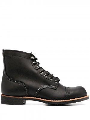 Ботинки Iron Ranger Red Wing Shoes. Цвет: черный
