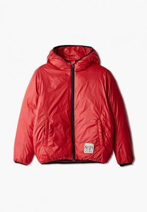 Куртка утепленная N21. Цвет: красный